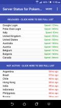 Server Status For Pokemon Go mobile app for free download