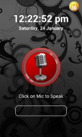 Voice Lock Screen mobile app for free download
