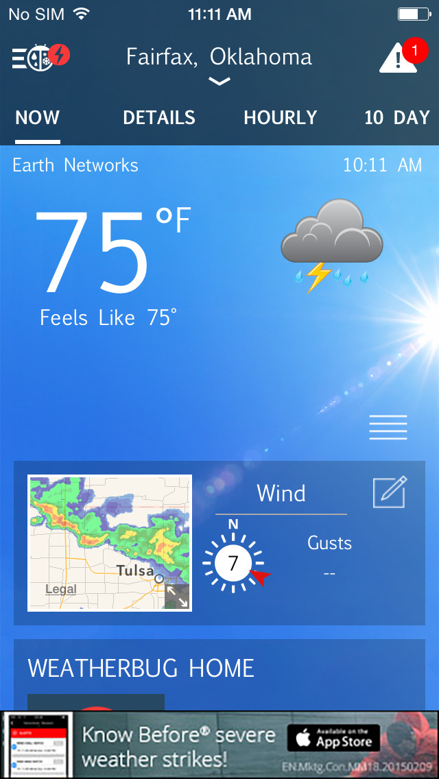 Free weatherbug download for cell phone