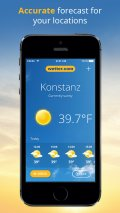 wetter.com Universal mobile app for free download
