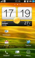 Clock Widget Htc One X Style mobile app for free download