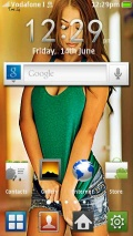 Samsung Galaxy S Launcher by Faiztwist mobile app for free download