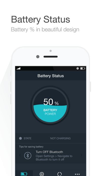 Battery Saver   Manage Battery Life  Check System Status