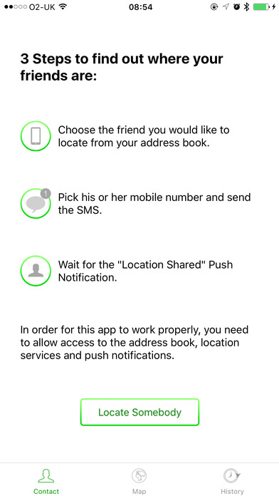 Whereareyou App Locate A Friend