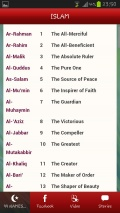 99 Names Of Allah mobile app for free download