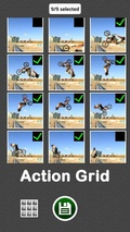 Action Grid for Instagram mobile app for free download
