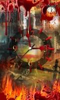 Apocalypse 3D Clock Live Wallpaper mobile app for free download