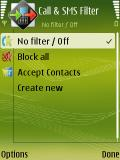 Call SMS Filter mobile app for free download
