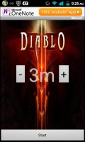 Diablo Save Game Reminder mobile app for free download