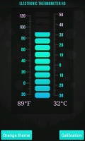 Electronic Thermometer HD mobile app for free download