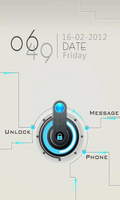 GO Locker Circuitry Theme v1.0 mobile app for free download