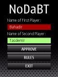 NoDaBT   Darts ScoreBoard For Symbian S60 3rd Edition   Nokia E52 mobile app for free download