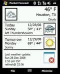 Pocket Forecast mobile app for free download