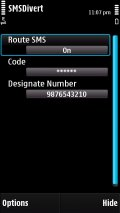 SMS Divert mobile app for free download