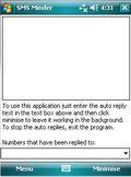 SMS Minder mobile app for free download