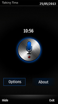 Talking time mobile app for free download