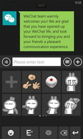 WeChat V2.6 For Blackberry OS 5.0 & 6.0 Or Above mobile app for free download