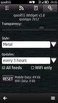 qooRSS Widget v1.00(1) mobile app for free download