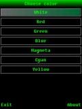 Color Flashlight mobile app for free download
