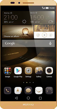 Huawei Ascend Mate 7 Gold second hand mobile in Lahore