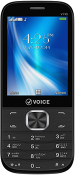 Voice V190 - Mobile Price, Rate and Specification
